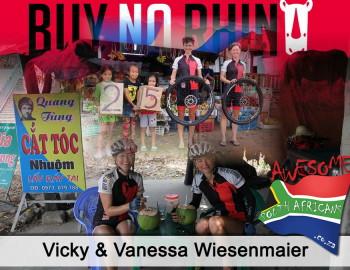 Vicky & Vanessa Wiesenmaier: BUY NO RHINO!