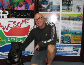 Alan and Tequila came to visit our office