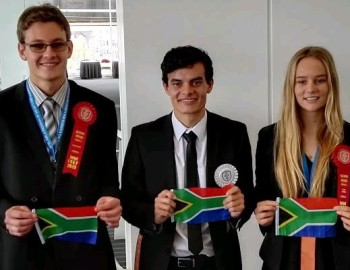 South African youngsters claim grand awards at ISEF 2015