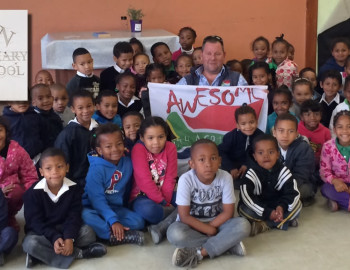 Ambassador for Word4Word at LK Zeeman Primary, Paarl