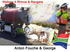 Anton Fouche is Walking 4 Rhinos & Rangers
