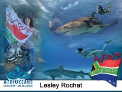 Lesley Rochat – The Shark Warrior