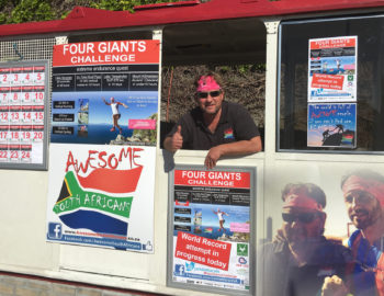 Jamie Marais summits Table Mountain 22 times