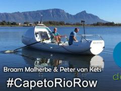 #CapetoRioRow with Braam & Peter