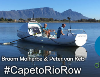 #CapetoRioRow with Braam & Peter