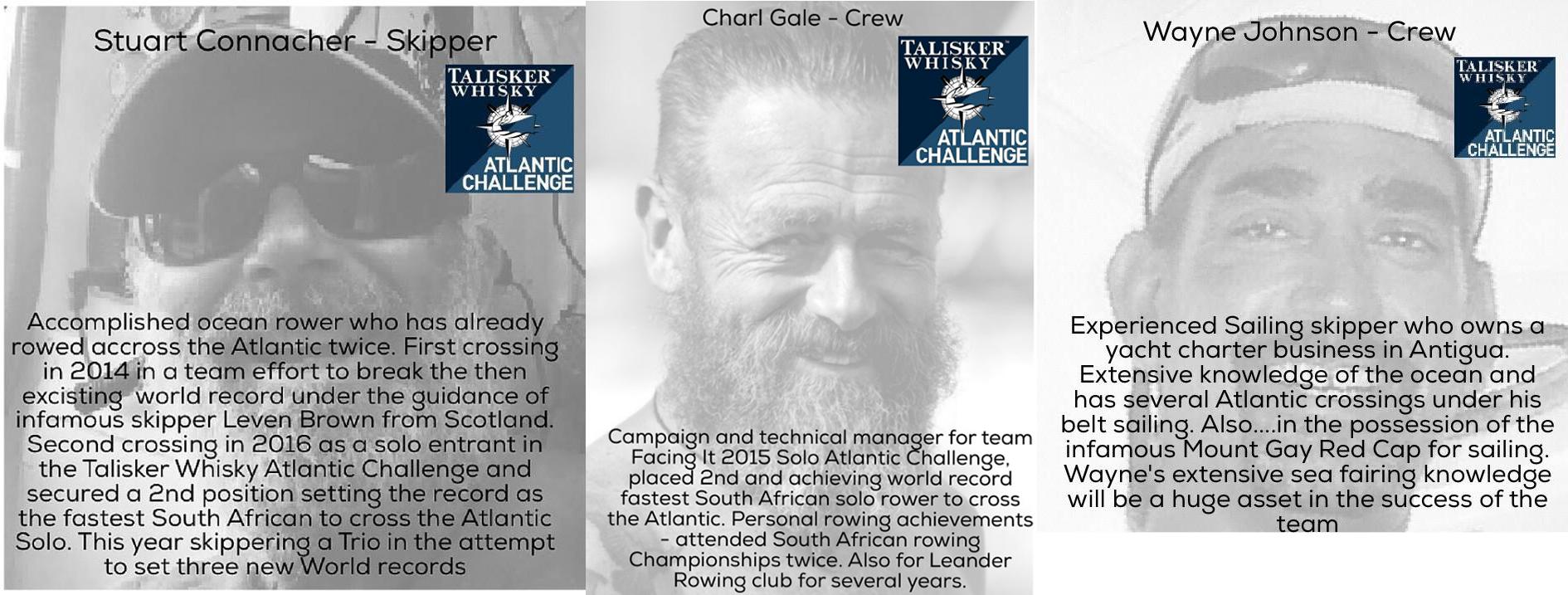 trio SA Trio racing the Atlantic   in a row boat