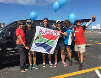 43 Days and 2000km for Autism
